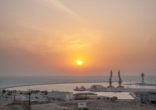 Sunset over the red sea, Jizan Region, Jizan, Saudi Arabia