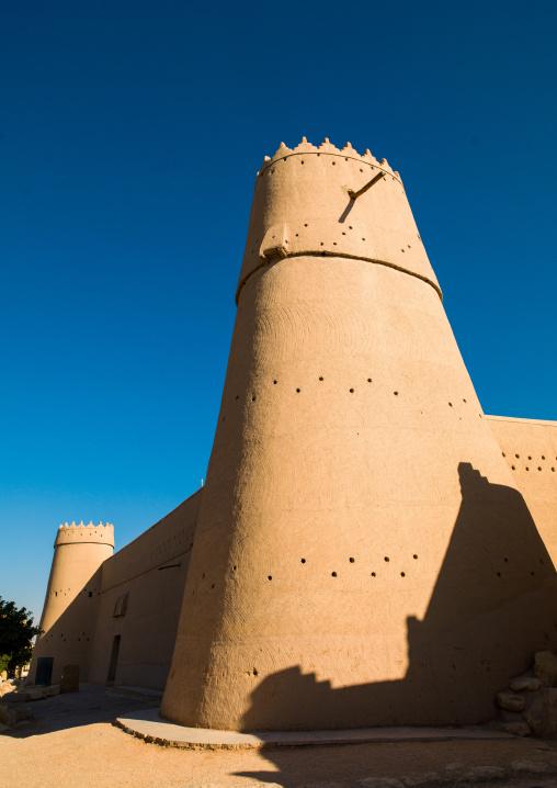 Al masmak fortified clay and mud-brick castle watchtower, Riyadh Province, Riyadh, Saudi Arabia