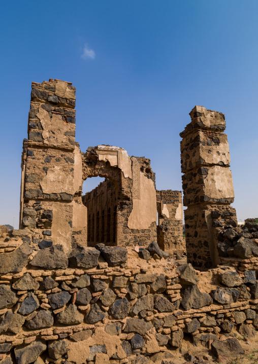 Abandoned idriss palace, Jizan Region, Jizan, Saudi Arabia