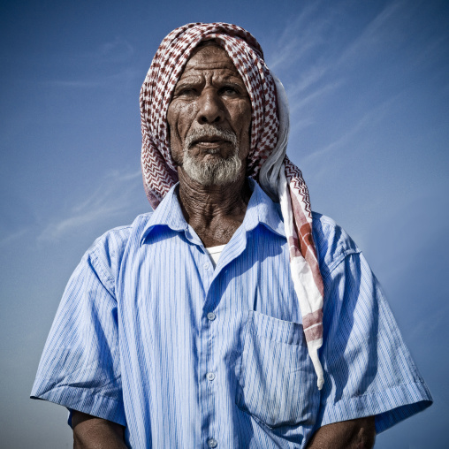 Portrait of a saudi man, Jizan Province, Sabya, Saudi Arabia