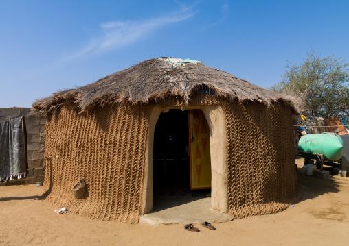 Traditional tihama hut, Jizan Region, Jizan, Saudi Arabia