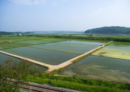 North and south korea border in imjingak, Sudogwon, Paju, South korea