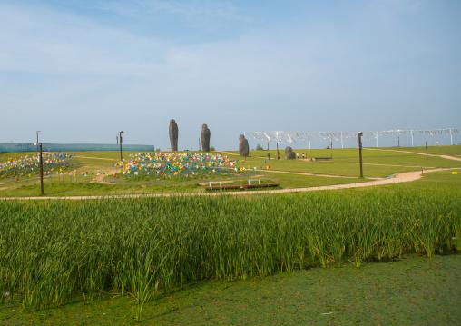 Imjingak park, Sudogwon, Paju, South korea