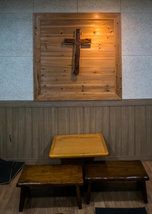 Prayer room at yeomyung school, National capital area, Seoul, South korea