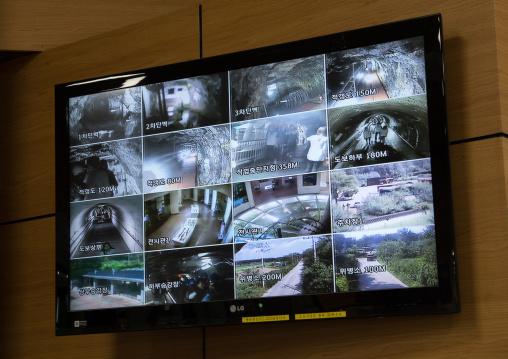 Third infiltration tunnel cctv, North Hwanghae Province, Panmunjom, South Korea