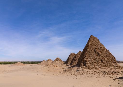 Royal pyramids of nubian kings, Northern State, Nuri, Sudan