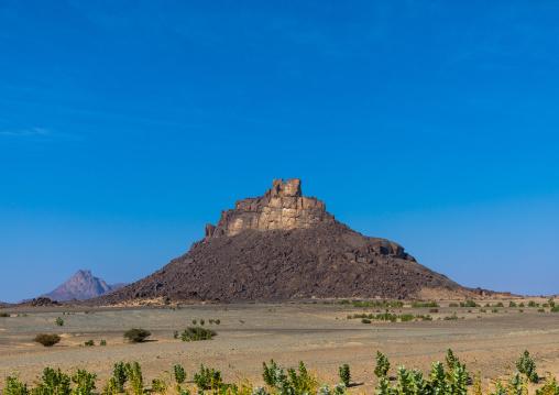 Mountainous landscape, Red Sea State, Suakin, Sudan