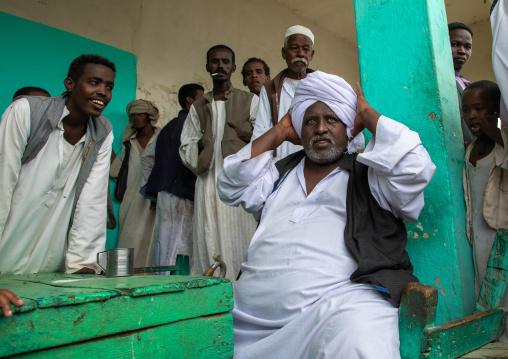 Beja tribe men, Red Sea State, Port Sudan, Sudan