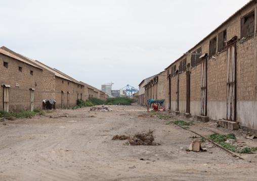 Warehouses on the port, Red Sea State, Port Sudan, Sudan