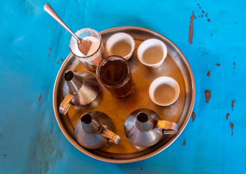 Coffee on table, Kassala State, Kassala, Sudan