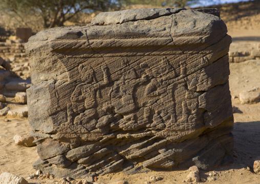 Sudan, Kush, Meroe, amun temple in the royal city of meroe