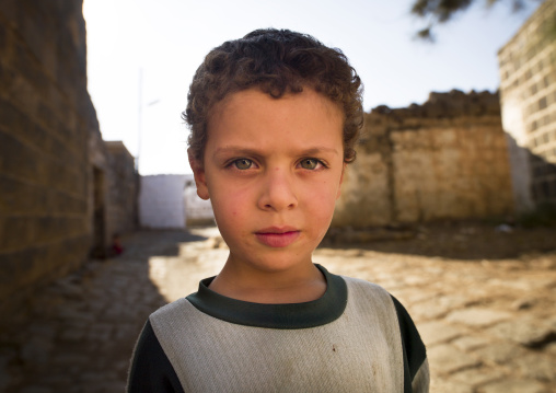 Boy In Old Town, Bosra, Daraa Governorate, Syria