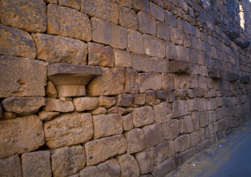 Wall In The Ancient City, Bosra, Daraa Governorate, Syria