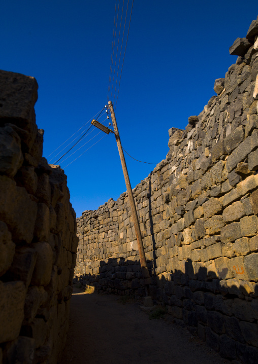 Street In Ancient City, Bosra, Daraa Governorate, Syria