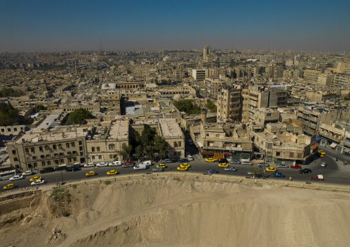 High Angle View From Citadel, Aleppo, Aleppo Governorate, Syria