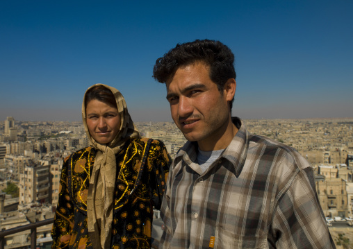 Couple Of Syrian, Aleppo, Aleppo Governorate, Syria