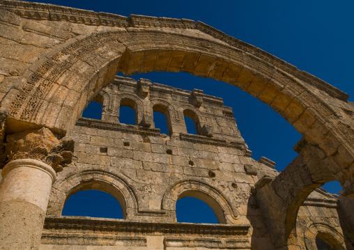 The Church Of Saint Simeon Stylites, Mount Simeon, Aleppo Governate, Syria