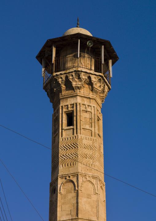 Minaret Of Al-atroush Mosque, Aleppo, Aleppo Governorate, Syria