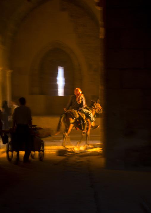 Horseman At Bab Qennesrine, Aleppo, Aleppo Governorate, Syria