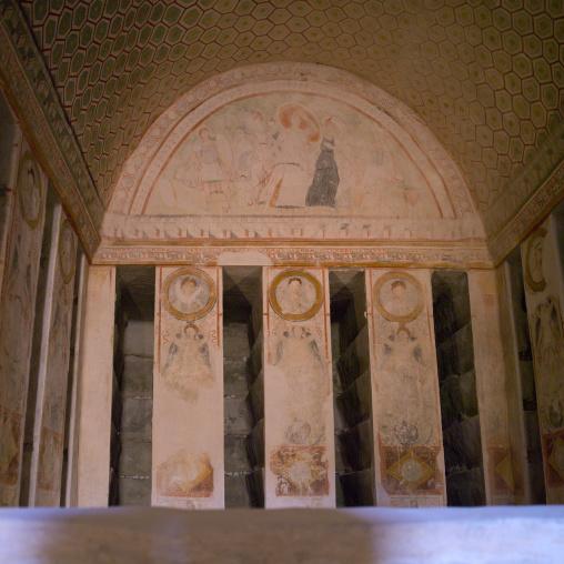 Eggelin Tomb  In The Ancient Roman City, Palmyra, Syrian Desert, Syria