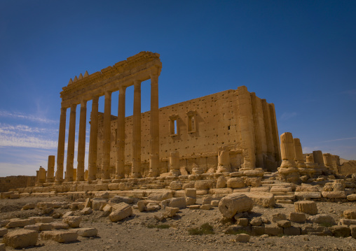Temple Of Bel In The Ancient Roman City, Palmyra, Syrian Desert, Syria