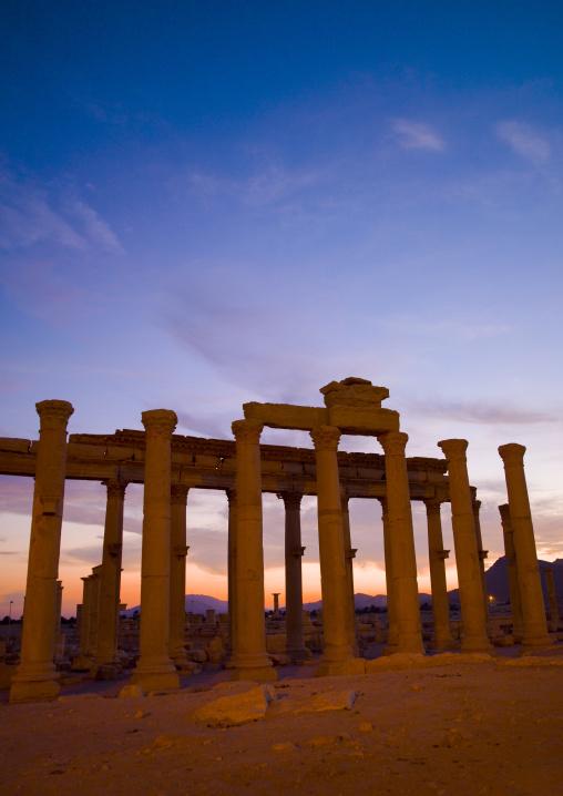 The Ancient Roman City, Palmyra, Syrian Desert, Syria