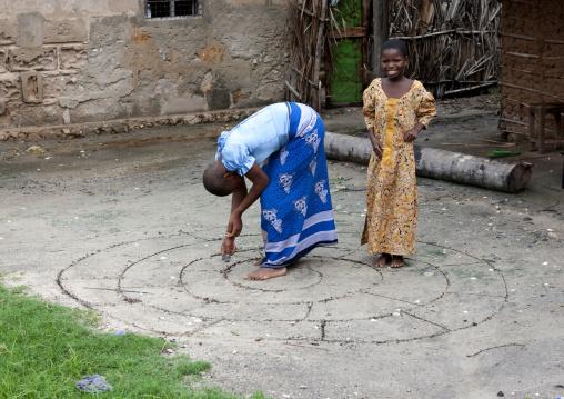 Girls playing in mikindani, Tanzania