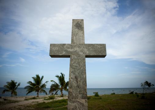 Cross in bagamoyo, Tanzania