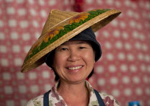 Waitress in chiang mai, Thailand