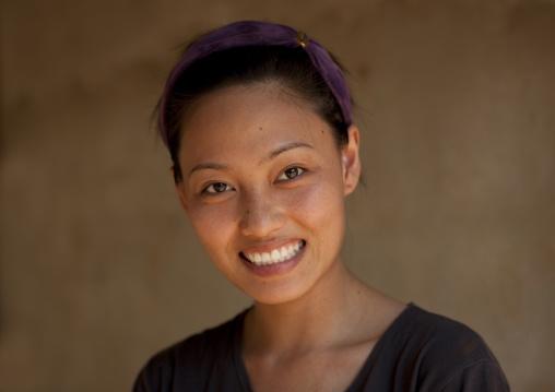 Ban nam rin village, Lisu tribe woman, Thailand