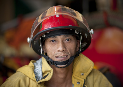 Fireman, Bangkok, Thailand