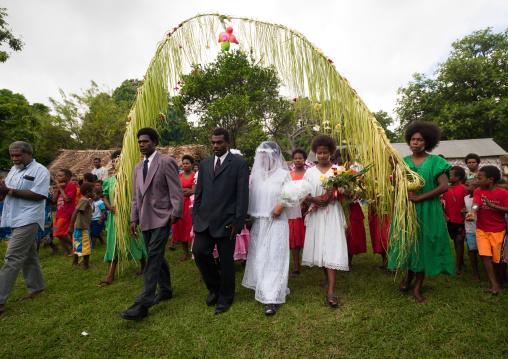 Traditional wedding in the tribe, Malampa Province, Ambrym island, Vanuatu