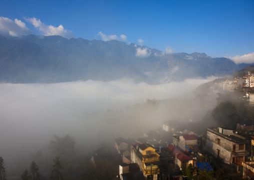 Village in the clouds, Vietnam
