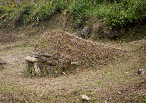 Old grave in sapa, Vietnam