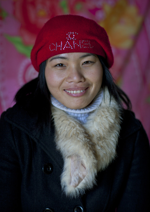 Giay woman dressed in a western way, Sapa, Vietnam