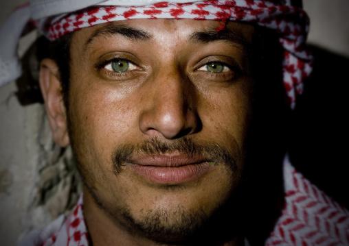 Young Man Chewing Qat, Sanaa, Yemen