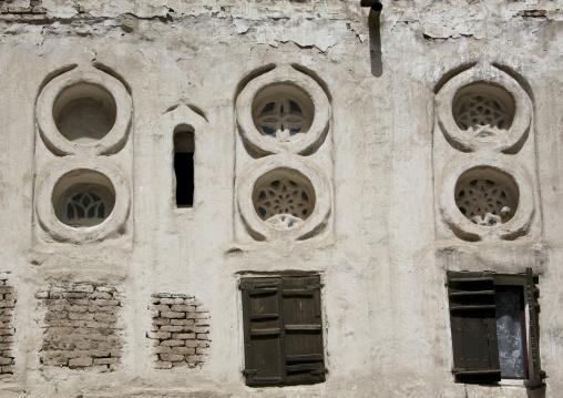 Alabaster Window Of An Old House, Sanaa, Yemen
