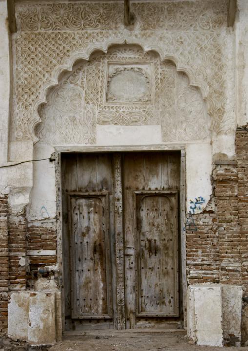 Artistically Sculpted Doorway, Al Hodeidah, Yemen