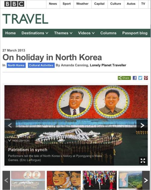BBC Travel - North Korea