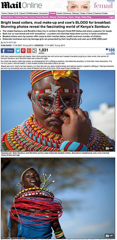 Daily Mail - Samburu