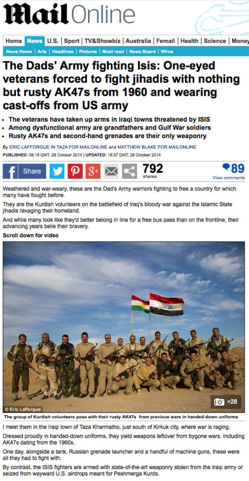 Daily Mail - Veterans