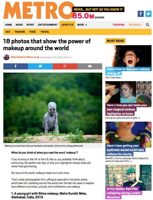 Metro - Makeup of the world