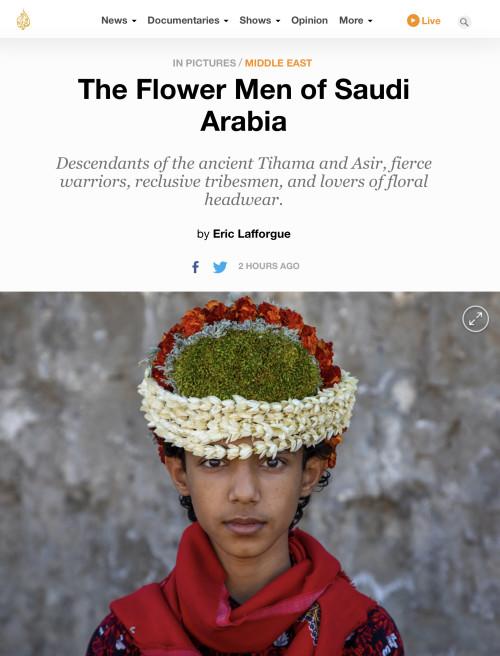 Al Jazeera - Flower Men from Saudi