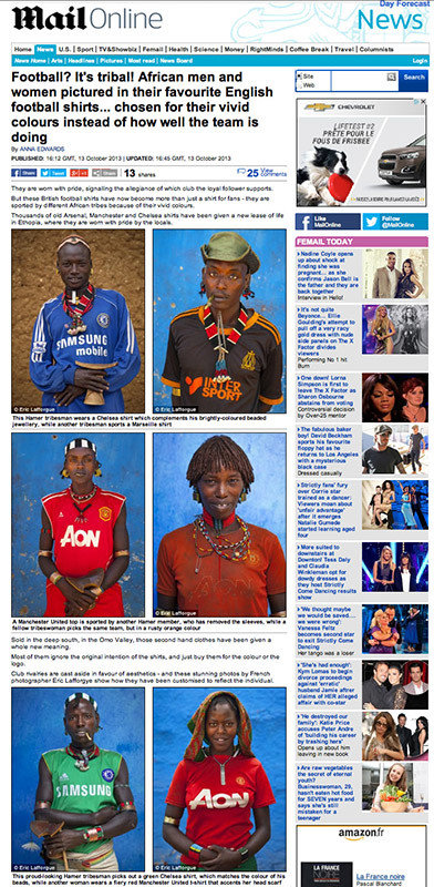 Daily Mail - Ethiopian football