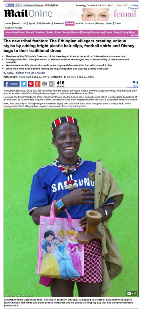 Daily Mail - Omo fashion