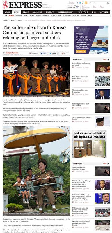 Express UK - North Korea