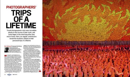 Lonely Planet Magazine - North Korea Arirang