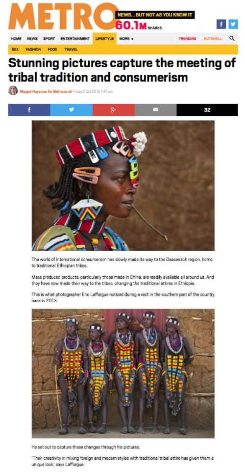 Metro - Omo tribes