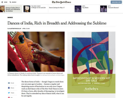 The New York Times - Theyyam