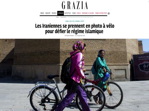 Grazia - les Iraniennes